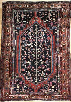 Marvelous Malayer - 1900s Antique Persian Rug - Tree of Life - 4.1 x 6 ft.