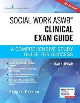 Social Work Aswb Clinical Exam Guide, Second Edition : A Comprehensive Study...