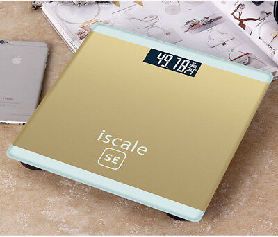 Tempered Glass Digital Bathroom Weighing Scales Electronic Body Weight Scale