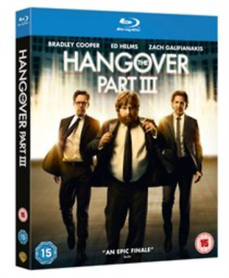 Bradley Cooper, Zach Galifi...-Hangover: Part 3 (UK IMPORT) Blu-ray NEW