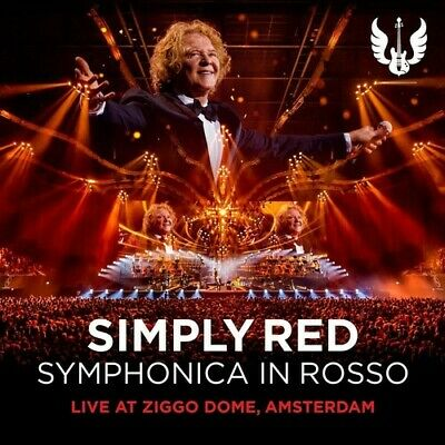 Simply Red - Symphonica In Rosso (live At Ziggo Dome Amsterdam) [New CD] With DV