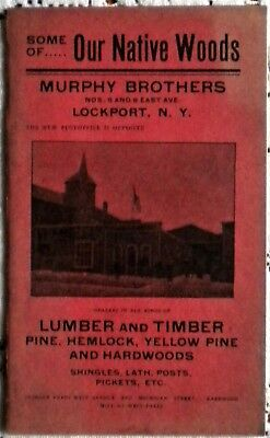 Antique Booklet - Murphy Brothers Lumber & Timber - Lockport, NY
