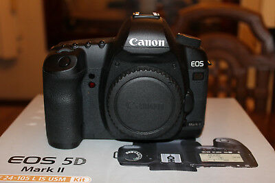 Canon EOS 5D Mark II 21.1MP Digital SLR Body Only - 4k Shutter Count - Excellent