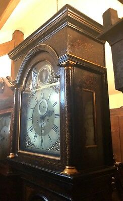 Lovely Massive Antique Walnut Vienna Wall Clock 8 Day ######## 05