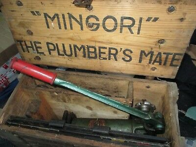 Mingori Hydraulic Pipe Bender In  Original Fitted Box With Formers