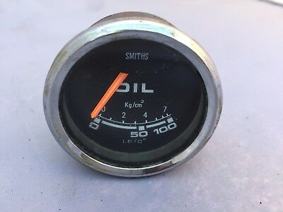 Smiths Oil Pressure Gauge BP2213/00 Suit Classic Car