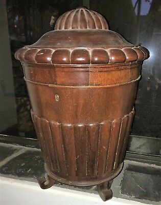 19thC Antique KNIFE BOX ~unusual form~