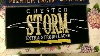 tappetino birra CHESTER STORM EXTRA STRONG LAGER