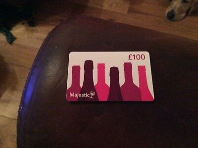 £100 majestic voucher for £75