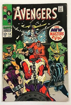 Avengers #54 Marvel Comics 1968 Silver Age First cameo appearance of Ultron!