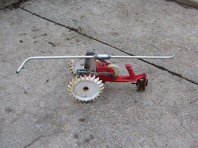 Vintage Thompson Mechanical Lawn Tractor Water Sprinkler Cast Iron