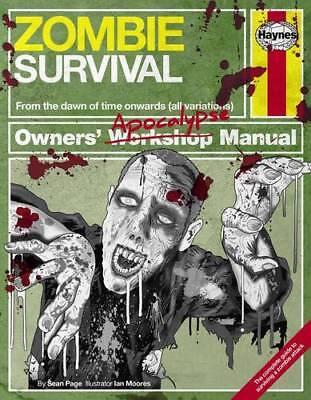 Zombie Survival Manual: The complete guide to su, Sean T. Page, Excellent