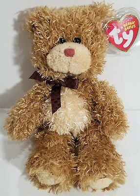 "TY Beanie Babies ""BEARY MUCH"" Ty Store Exclusive Teddy Bear - MWMTs! GREAT GIFT!"