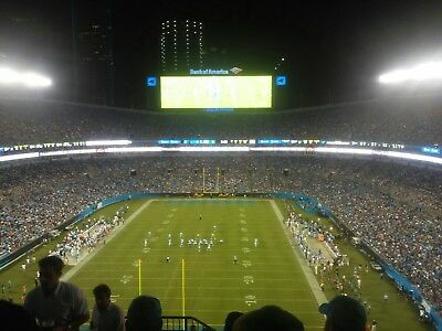 2 Carolina Panthers vs New Orleans Saints Tickets 12/17/18