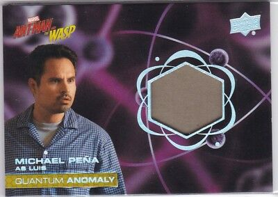 Michael Pena Luis 2018 Upper Deck Ant-Man and Wasp Quantum Anomaly Relic #QM4 (A