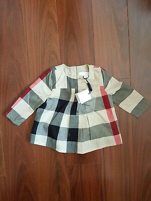 Kids Burberry top Size 6 Months