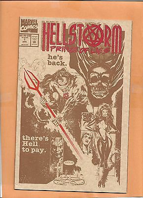 Hellstorm Prince de Lies #1 Apr 1993 Marvel Comics