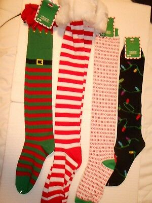 Claire's Christmas Socks New with Tags Great for Stocking Stuffer's You Choose