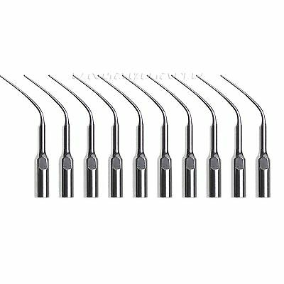 10pcs Dental Perio Scaling Tips PD3 for DTE SATELEC NSK Ultrasonic Perio Scaler