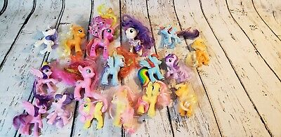 """My Little Pony Friendship Is Magic 3"""" Ponies Lot Set Of 17"""