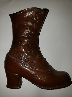 1970's Vintage Carrier Boots Advertising Display Boot