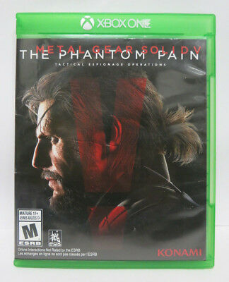 Metal Gear Solid V: The Phantom Pain XBOX ONE Complete