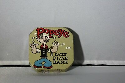 Popeye Daily Dime Bank with Graphics