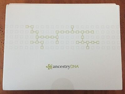 AncestryDNA Genetic Testing DNA Ancestry Test Kit ~ New Sealed ~ Free Shipping!
