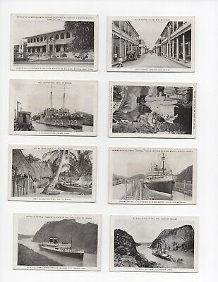2 Sets Of Genuine Photos From WW 2 Panama & A.C.T.S Chanute Field.
