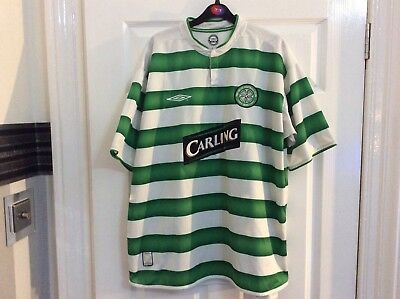 Celtic Men's Home Shirt with Sponsor ----XXL ADULT ---