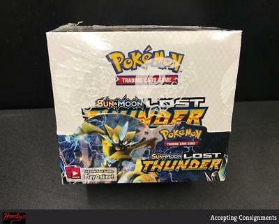 Pokemon Lost Thunder Sun & Moon Booster Factory Sealed Box - 36 Packs