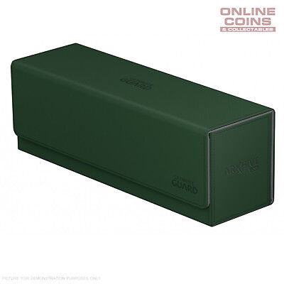 Ultimate Guard ArkHive™ 400+ Green Trading Card Storage Box