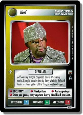 Star Trek Ccg Twt Trouble With Tribbles Worf 92R