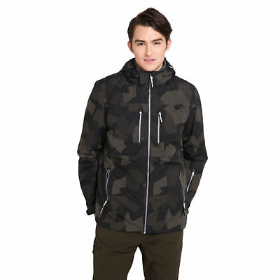 Bossini Mens Camo Multi-functional Jacket Valuable Coats Size 36 - 44