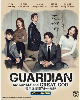 DVD KOREAN DRAMA : GUARDIAN THE LONELY AND GREAT GOD VOL. 1-16end Live Action