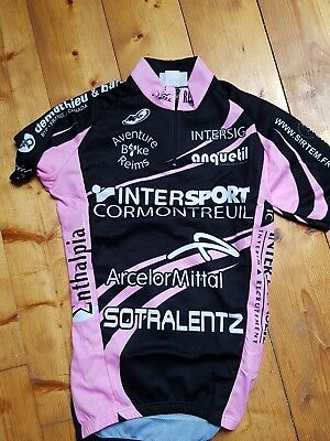 maillot velo cycliste vtt neuf S manches courtes