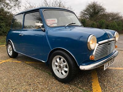 1973 Austin Mini 1000cc.  MK3. Teal Blue. Fully restored and ready to go.