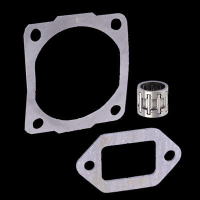 Exhaust Gasket + Cylinder Gasket + Needle Bearing for Stihl MS260 026 Chainsaw