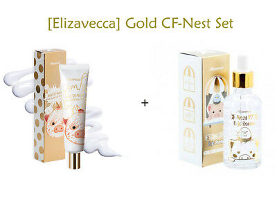 [Elizavecca] Gold CF-Nest White Bomb Eye Cream + CF-Nest Extract 97% B-jo Serum