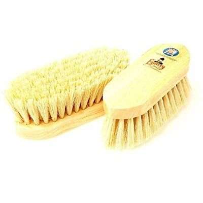 Equerry Wooden Dandy Brush - Mexican Fibre - Natural