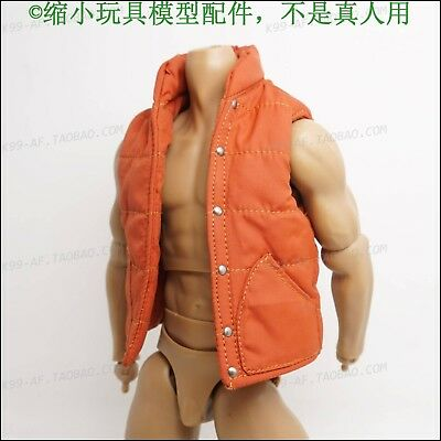 "1/6th back to the Future Down jacket Vest Model For 12"" Figure"