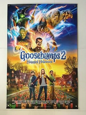 Goosebumps 2 Haunted Halloween | original DS one sheet movie poster 27x40 INTL
