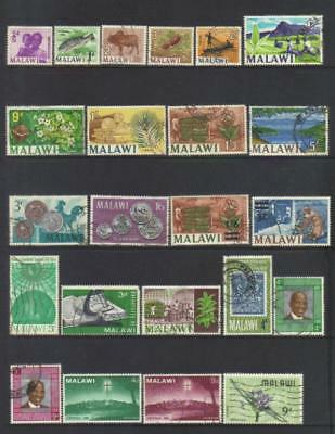 Malawi 1964-1968 Used Selection