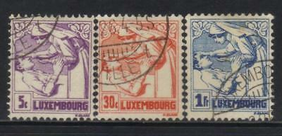 Luxembourg 1925 Anti Tb Fund 3 Used Values