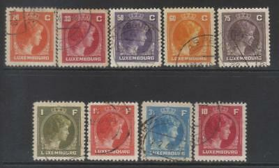 Luxembourg 1944-1946 Defins 9 Used Values