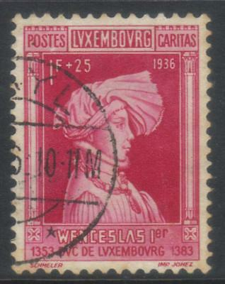 Luxembourg 1936 Child Welfare Sg356 Used