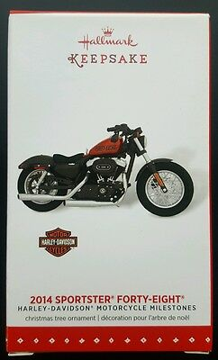 Hallmark 2014 SPORTSTER FORTY-EIGHT Harley-Davidson Motorcycle Series #17 2015