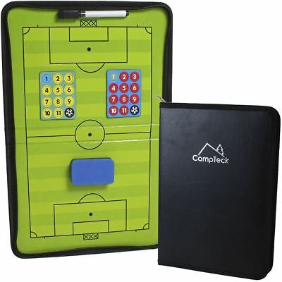 Magnetic Football Tactics Board Coaching Tactic Training Board 30x45cm