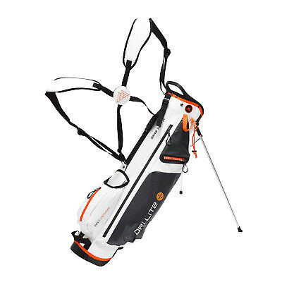 BIG MAX Dri Lite 7 Standbag - Ultraleicht -White/Charcoal/Orange