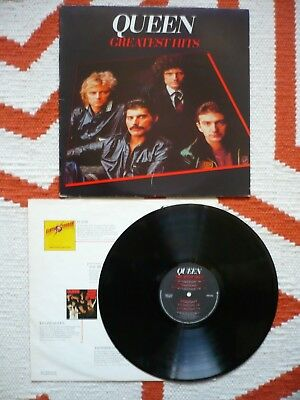 Queen Greatest Hits Vinyl 1981 Canadian Elektra LP Different Track Listing To UK